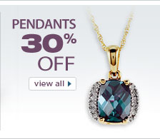 Save 30% on Jewelry Pendants from VistaBella