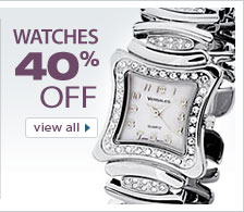 Save 40% on Jewelry Watches from VistaBella