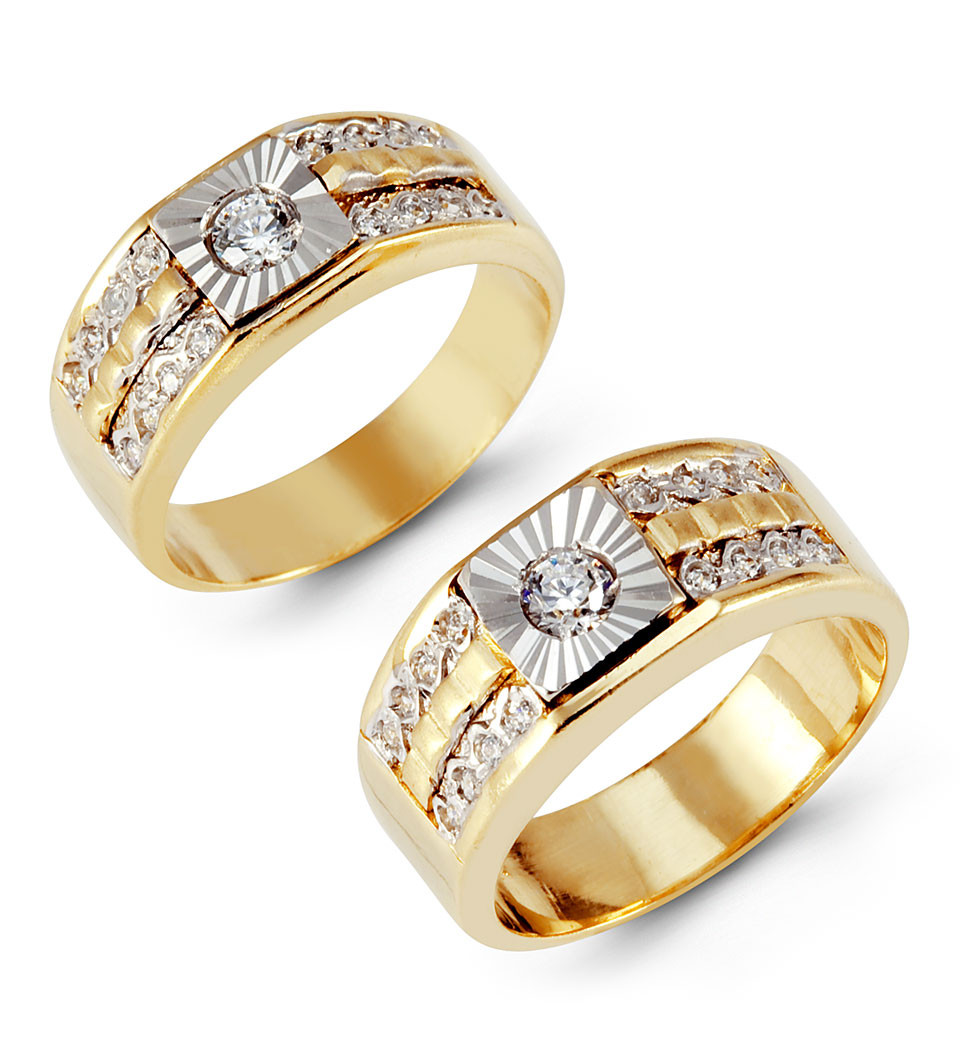 free watches rings h bridal diamond wedding piece g overstock by set jewelry gold annello halo shipping today kobelli tdw product