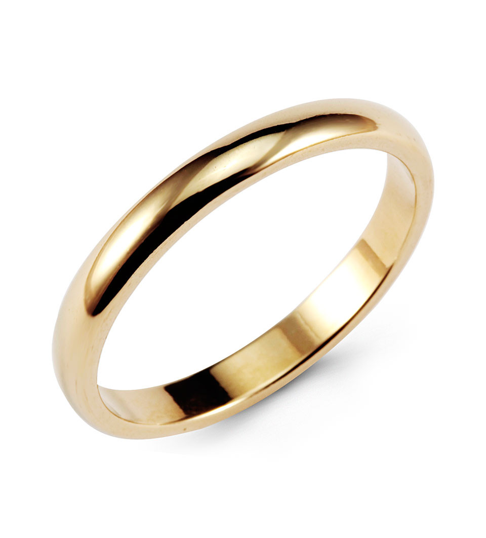 Wear Something Simple For Your Wedding Day This Plain Ring
