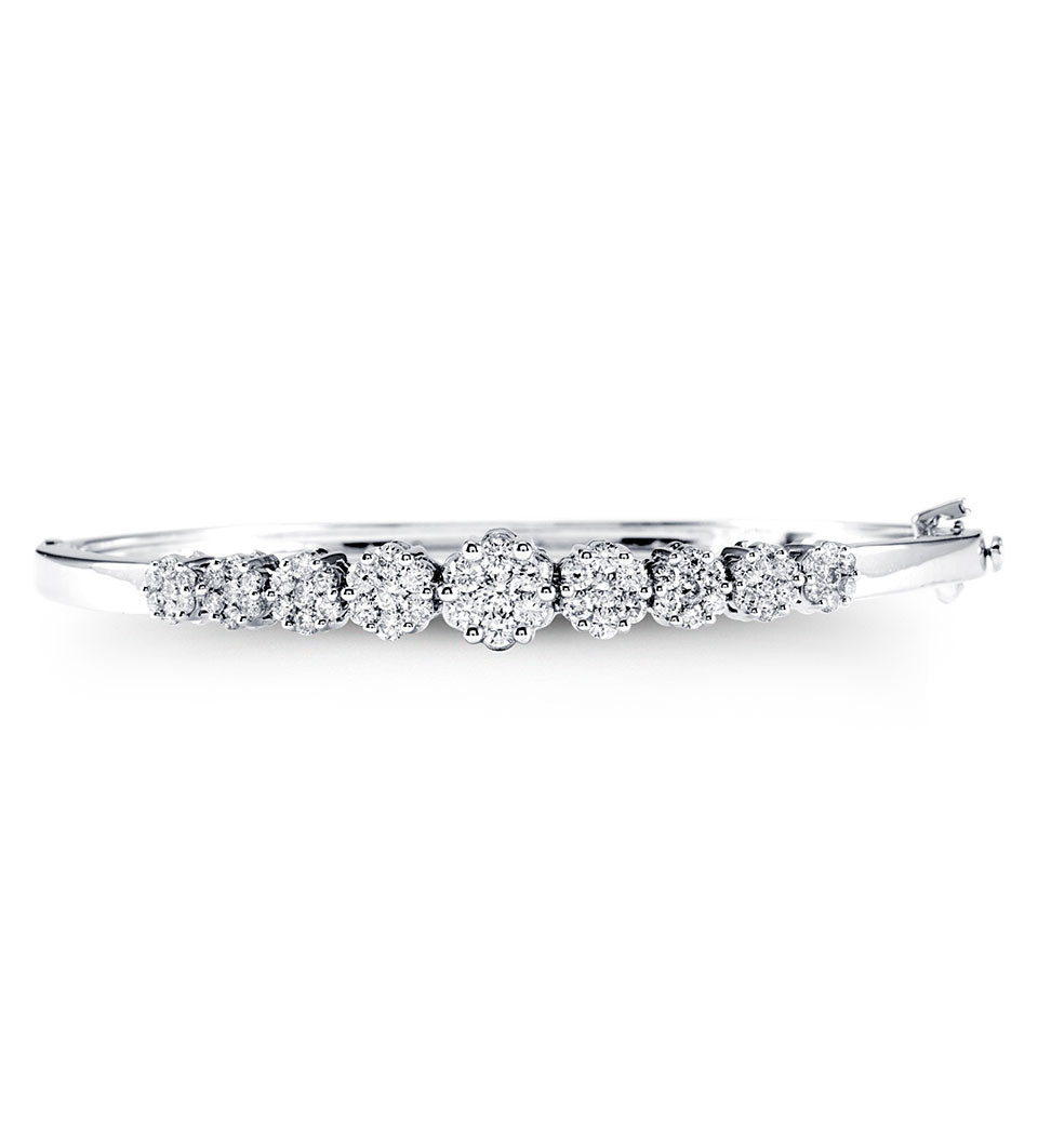 us en bracelets forevermark single dangle braceletslp double bracelet diamond bangles bangle cuff