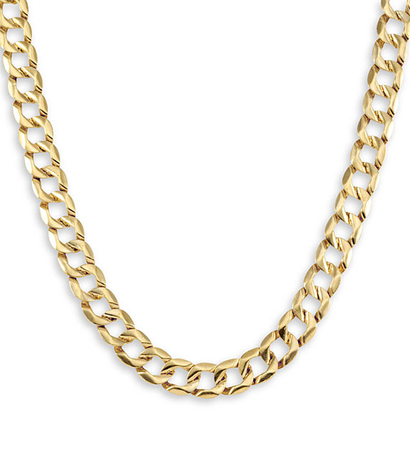 jewelry rose male plated accessories in necklace from chain style wholesale real color hiphop cuban item yellow neckalce gold necklaces men curb platinum