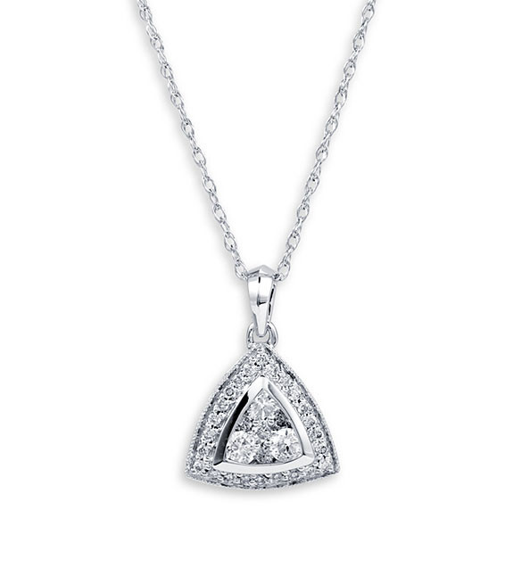 necklaces triangle pendant triplicity shop jewelry