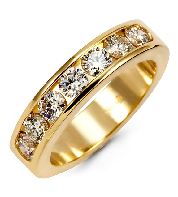 yellow band gold ring wedding new mens arrivals shop round diamond bands natural