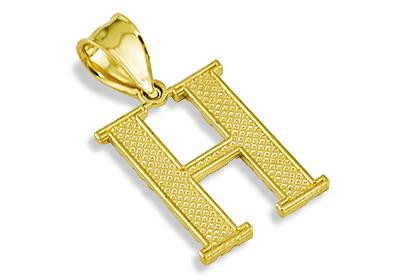 H Letter In Style with style by wearing this