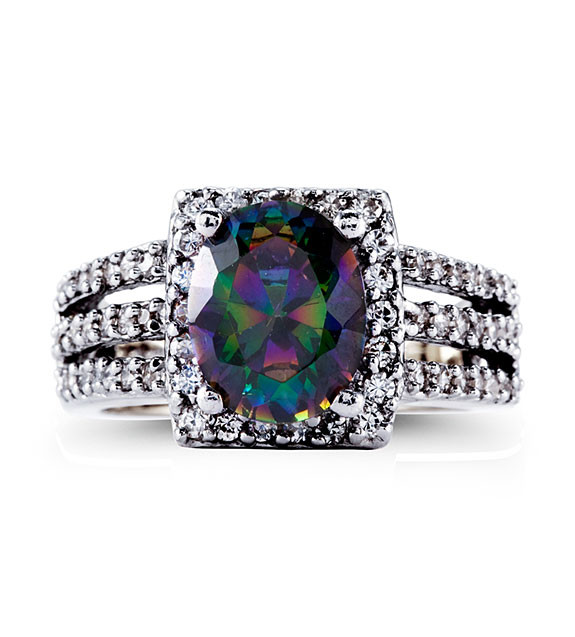 ring colored shades of multi engagement passion wedding mystic rings topaz