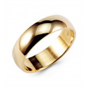 Solid 14k Yellow Gold Wedding Band Anniversary Ring